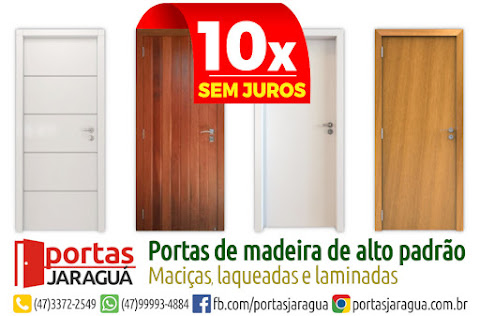 Portas de madeira de alto padrão em até 10x sem juros!
