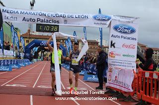 Fotos Media Maraton Leon 2017