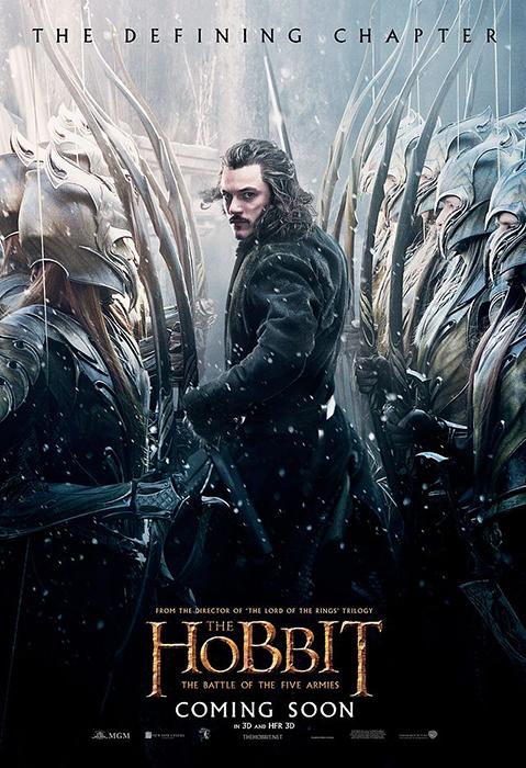 Poster Hobbitul: Bătălia Celor Cinci Oştiri