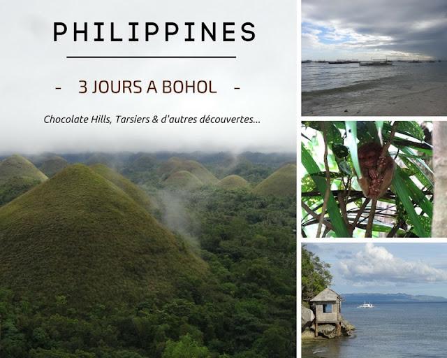 PHILIPPINES : Escapade de 3 jours à BOHOL : Chocolates Hills, Tarsiers et autres surprises ! www.by-laura.fr