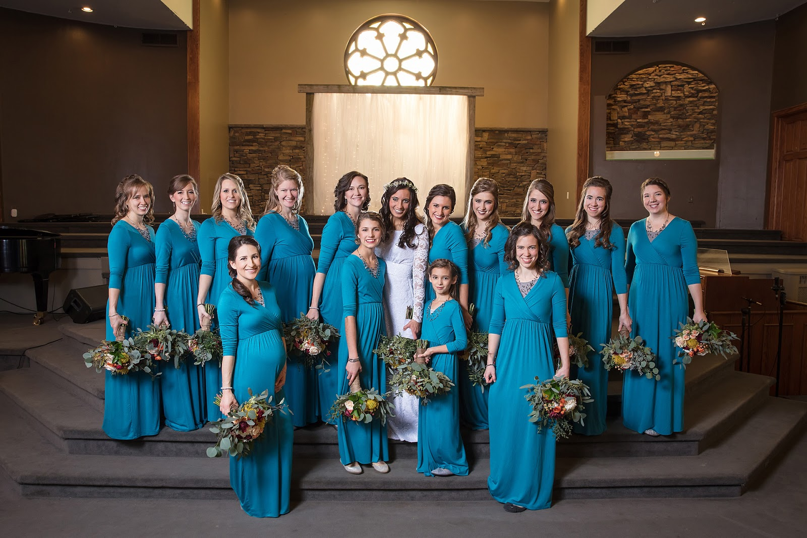 It\'s a Beautiful Life!: Our Wedding, Part Three || Bridal Party Outfits