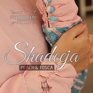 Ayyanameena Shadeeja Peach-Tosca