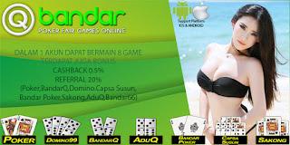 Bonus Cashback Agen Domino Online QBandar - www.Sakong2018.com