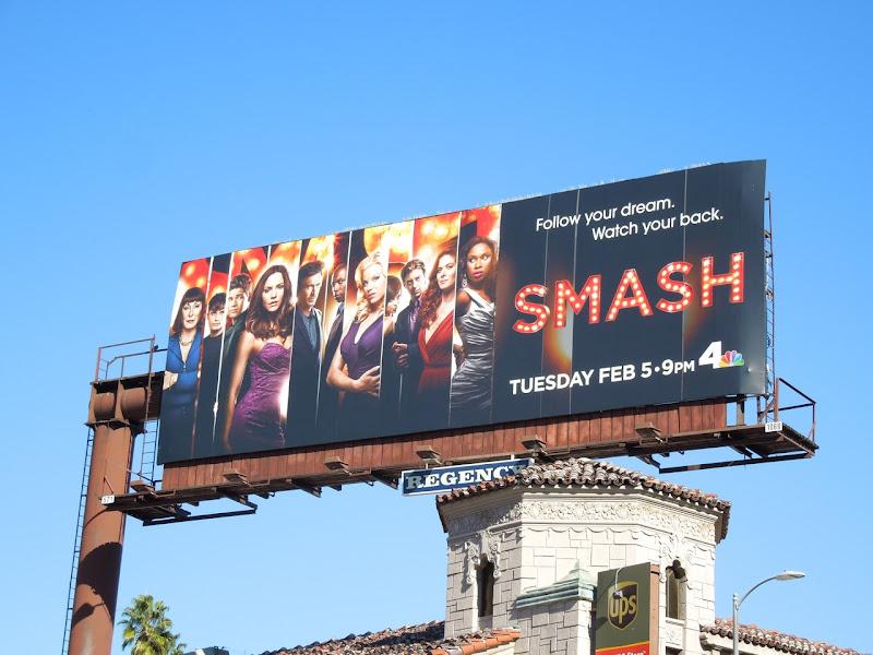 Smash season 2 NBC billboard