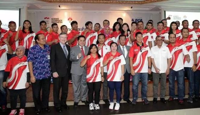 Seluruh Atlet Indonesia