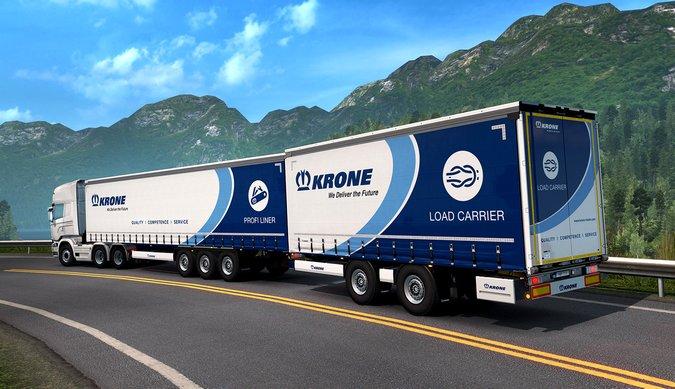 Euro Truck Simulator 2 recebe novo pacote de implementos