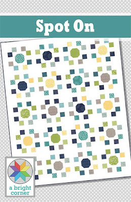 Spot On - a layer cake quilt pattern from A Bright Corner