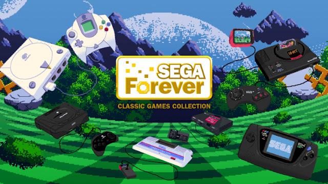Podremos jugar gratis a muchos títulos de SEGA gracias a SEGA Forever