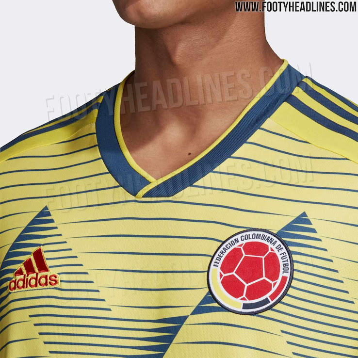0664e9146 Colombia 2019 Copa America Kit Released - Footy Headlines