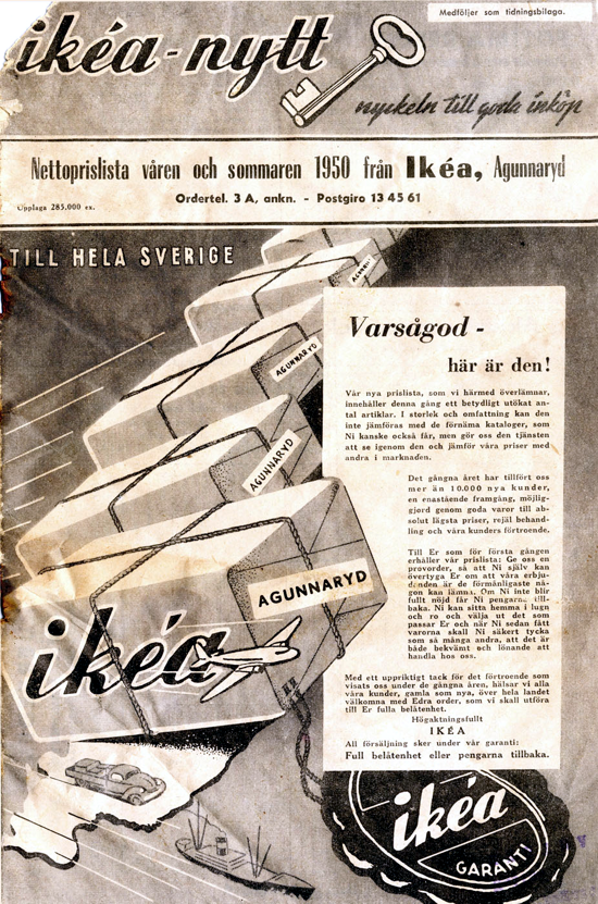 IKEA catalog 1949-50 cover