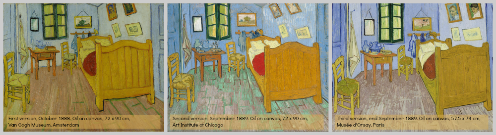 MFS-The Many Faces of Art and Design: Van Gogh\'s Famous \'BEDROOM ...