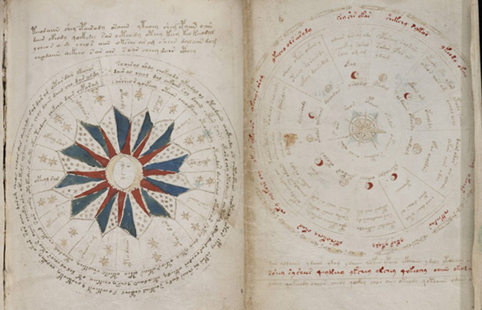 the enigmatic and undeciphered voynich manuscript unlikely