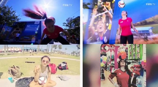 inilah Video Juggling Bola Terhebat Wanita Dan Cantik Lagi, Tak Kalah Dengan Neymar Dan Ronaldinho