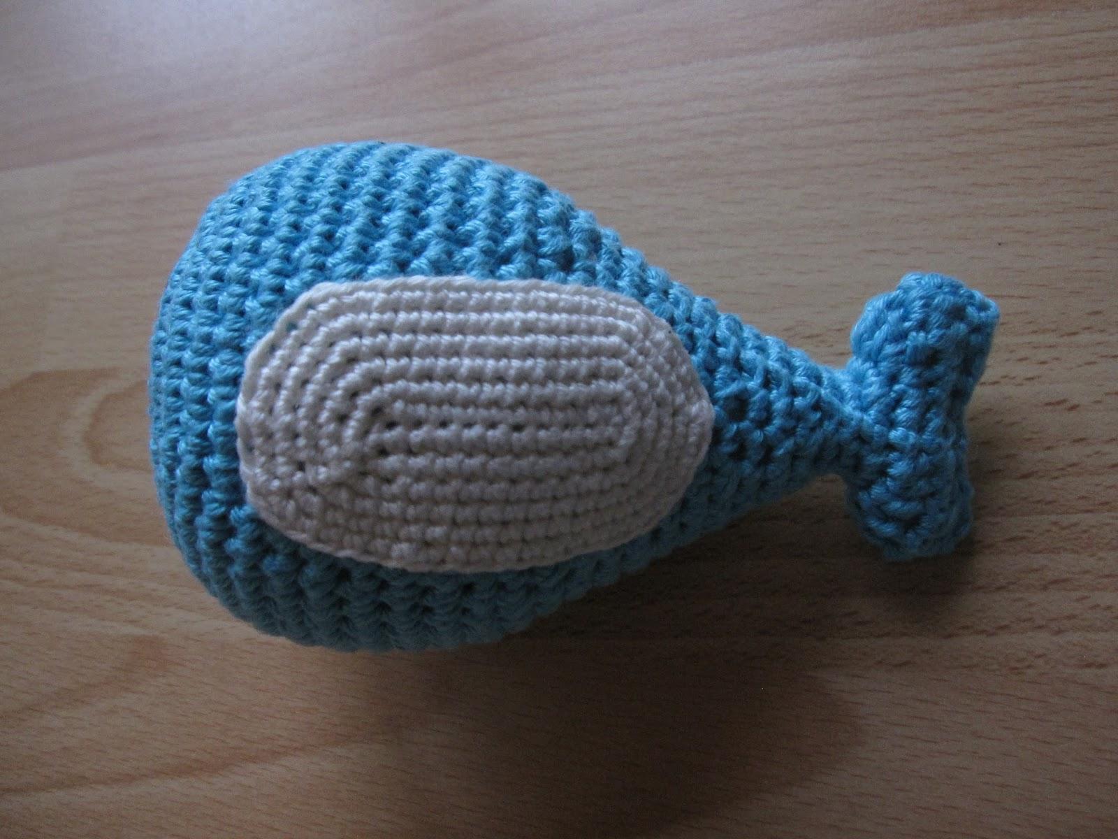 Sachen Selber Machen Drei Gehäkelte Walfische