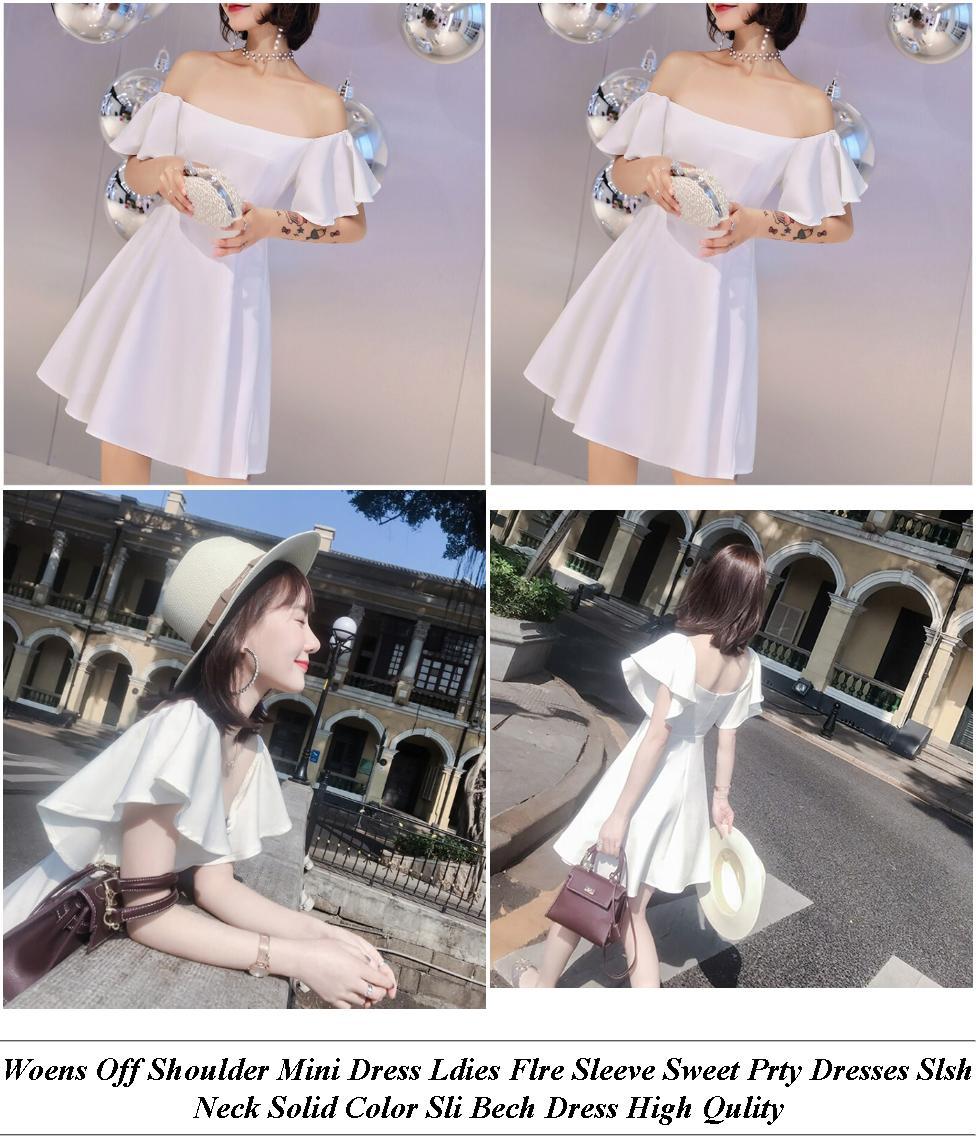 Dress One Pice - Uae Shopping Online Sites - Striped T Shirt Dress Hm