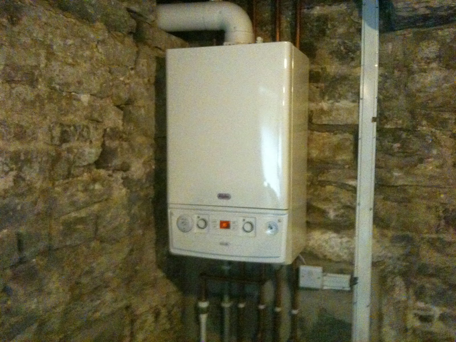 A rated condensing boiler has changed our house to a home.