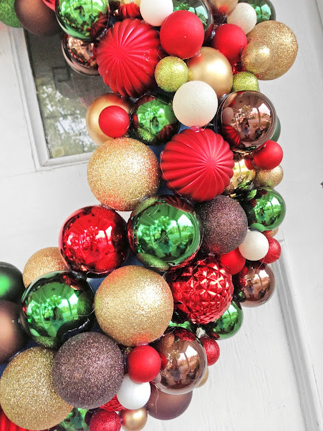 "Grosgrain Diy 30"" Pool Noodle Ornament Wreath"