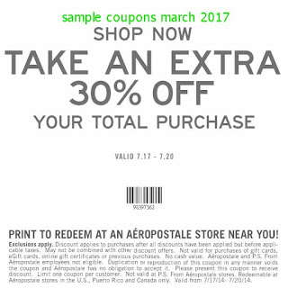 free Aeropostale coupons for march 2017