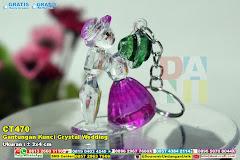 Gantungan Kunci Crystal Wedding