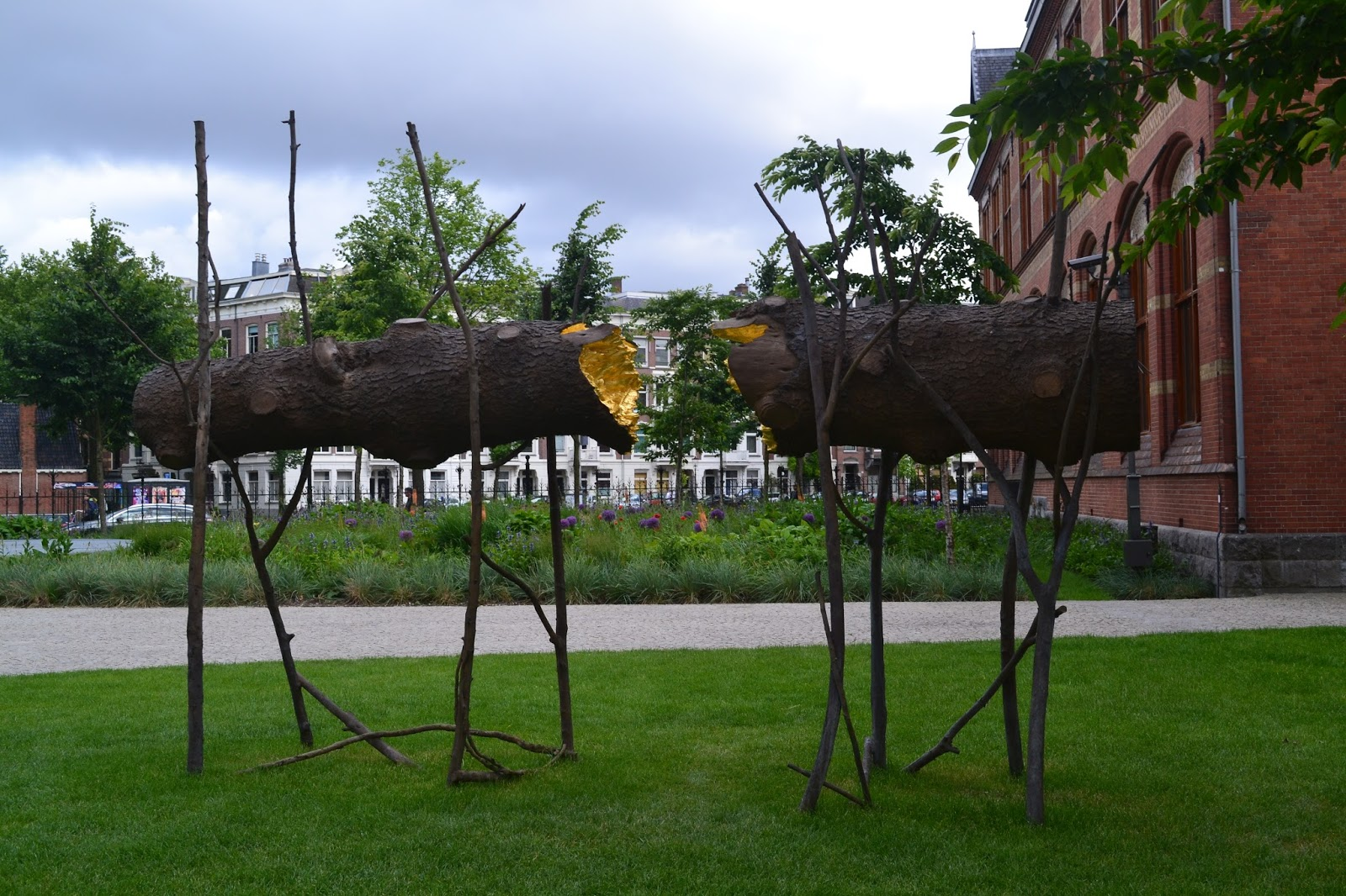 Arte Povera Nederland At Rijksmuseum S Art Gardens Penone Built Bridges For Our Back To