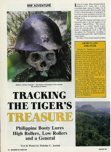 Tracking the Tiger's Treasure