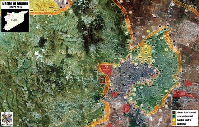 """El colapso de la """"contra"""" siria"""