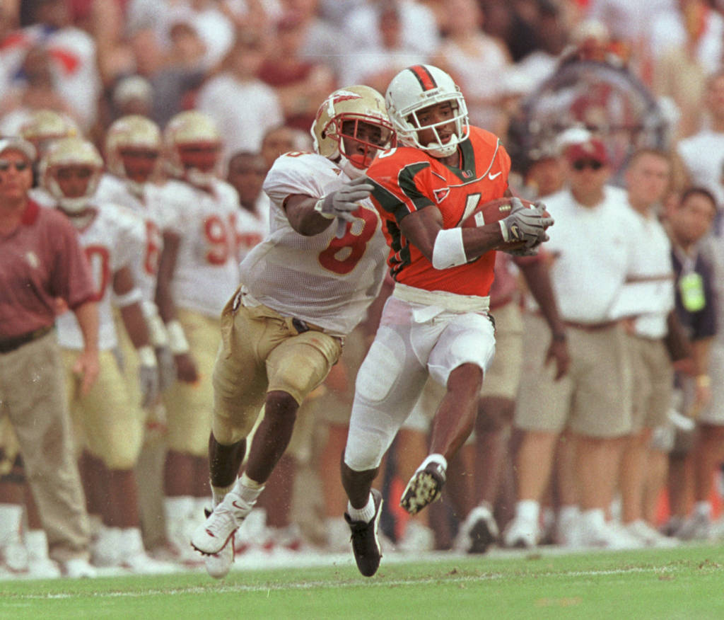 399406d3100 Fantasy Matchup: 1986 'Canes vs. 2000 'Canes | Canes Rising: The Blog