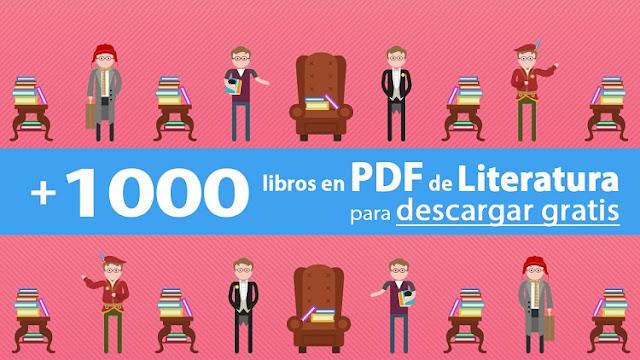 1000 Libros En PDF De Literatura Para Descargar Gratuitamente
