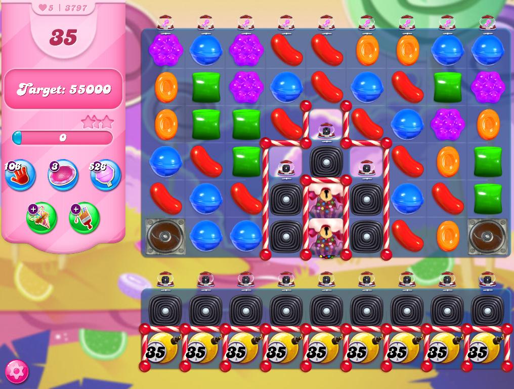 Candy Crush Saga level 3797