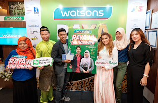 Raya Mega Sale with Watsons!