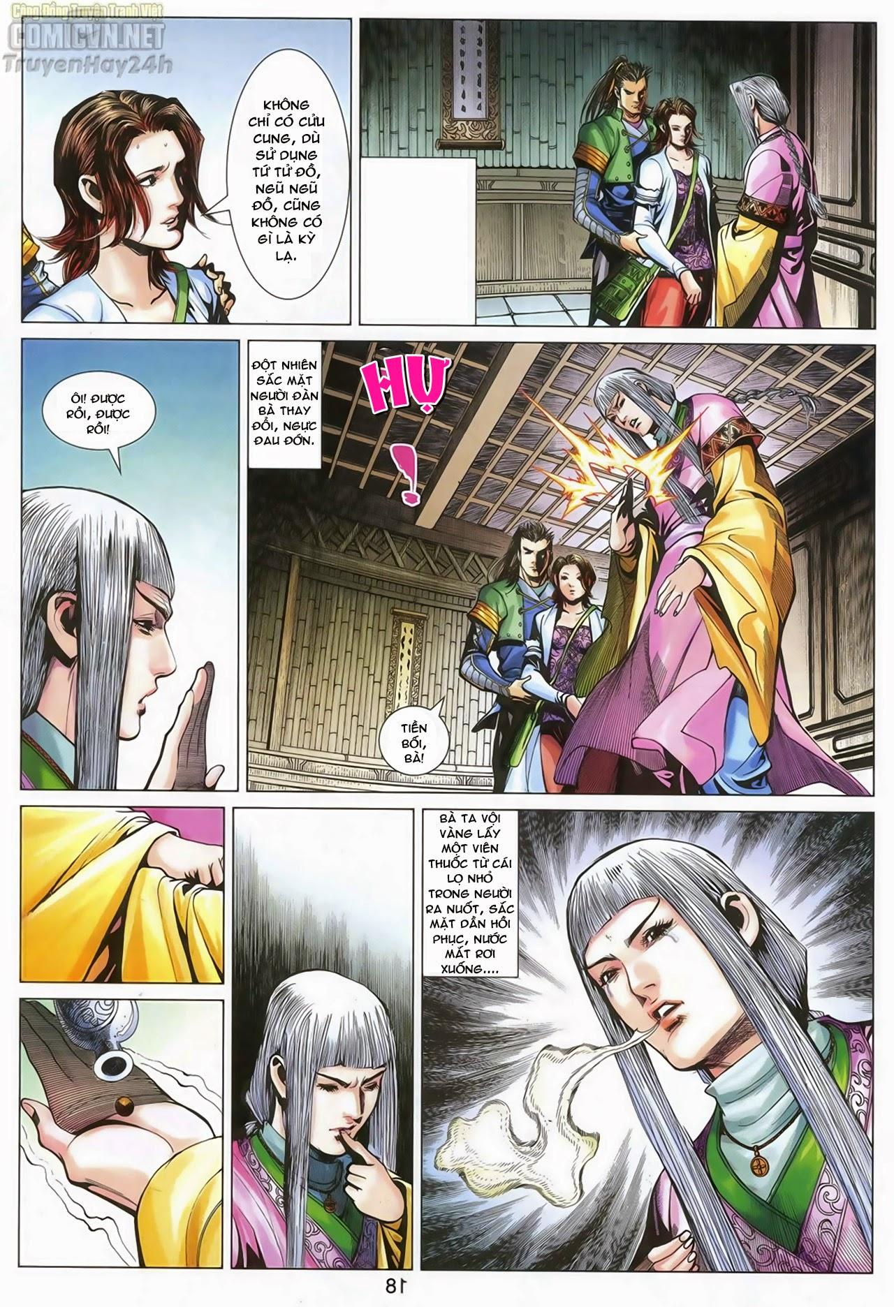 Anh Hùng Xạ Điêu anh hùng xạ đêu chap 70: hắc chiểu ẩn nữ trang 19