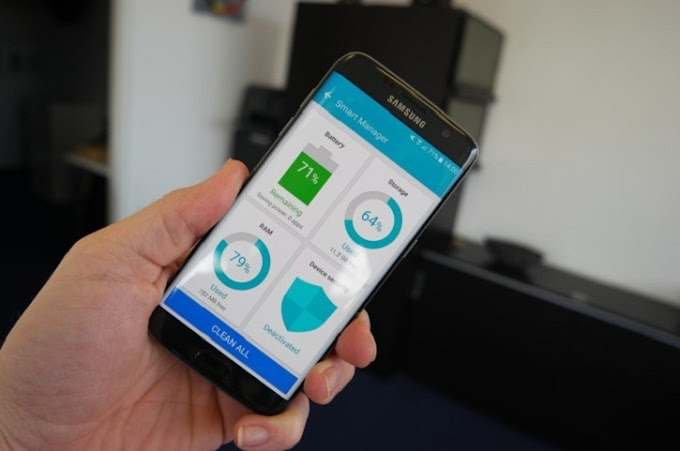 How to use Galaxy S7 application manager