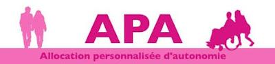 apa Allocation personnalisée d'autonomie