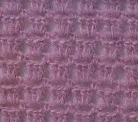 Patrón #845:  Punto Calado a Crochet