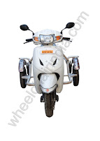 Side Wheels For Honda Activa 3G - ARAI Approved