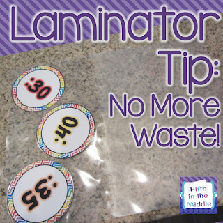 If you own a Scotch laminator, use this tip to help maximize your pouches.