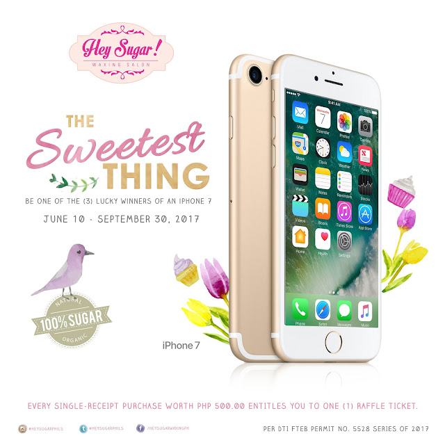 hey sugar waxing salong iphone 7 promo 2017