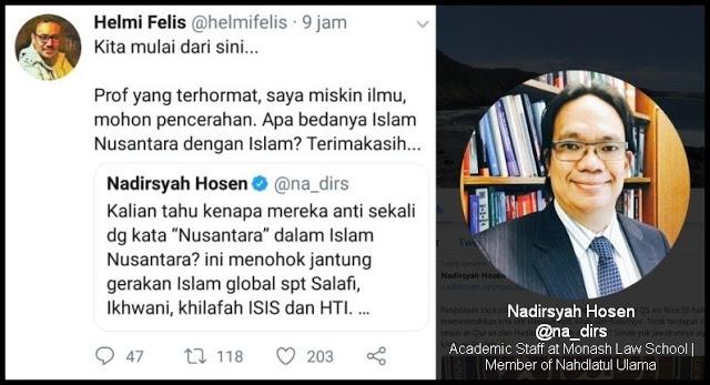 Ditanya Apa Bedanya Islam Nusantara dengan Islam, Prof @na_dirs Mingkem