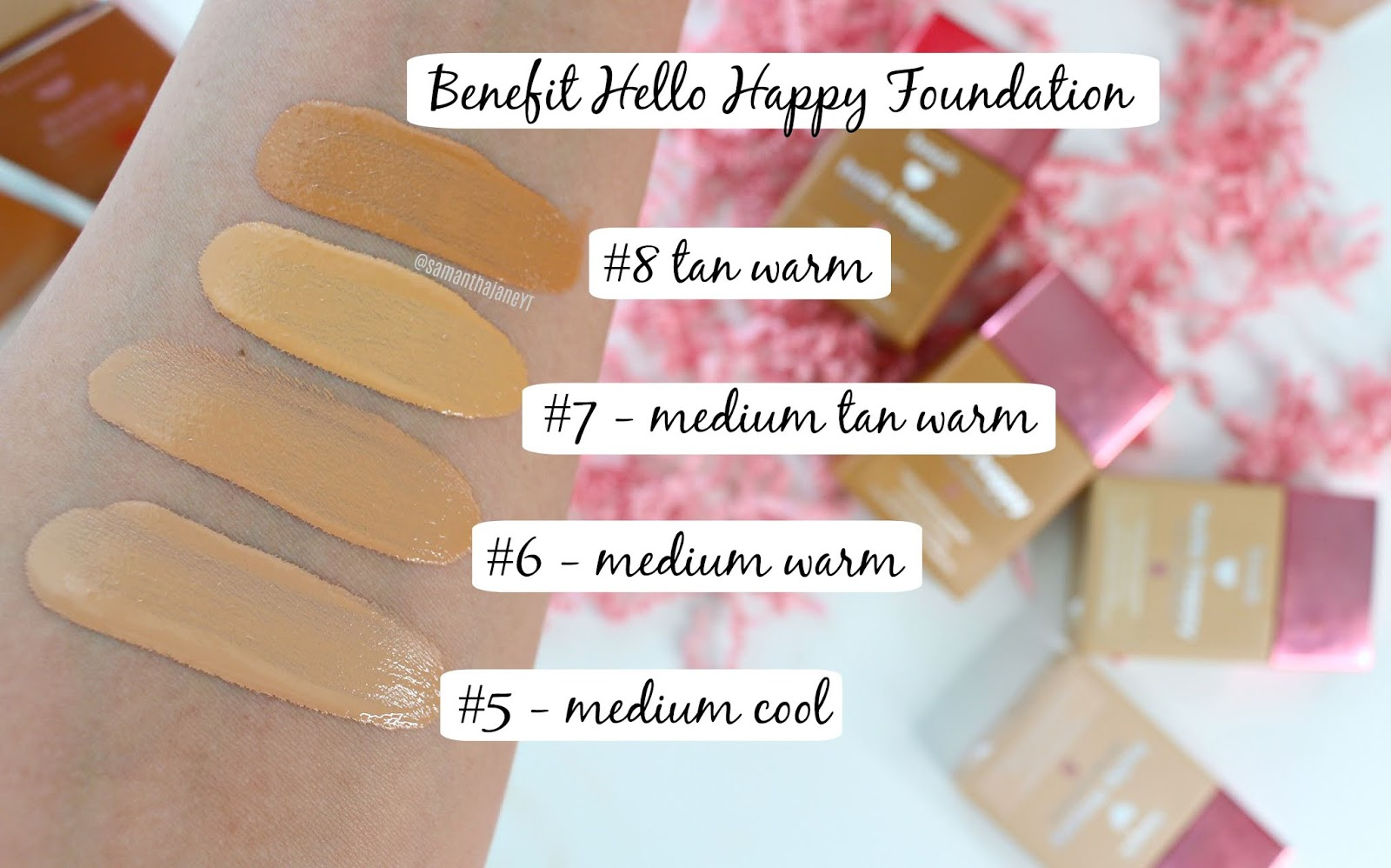 Hello Happy Soft Blur Foundation by Benefit #17
