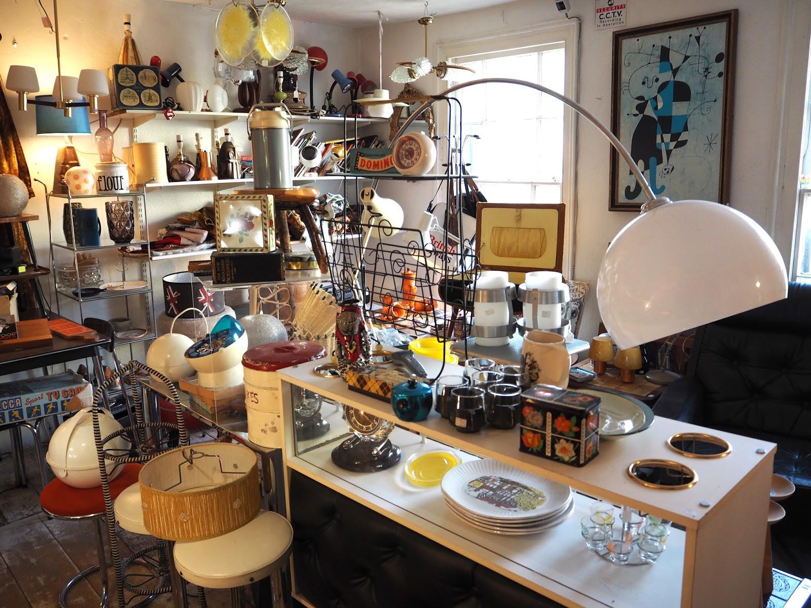 Repsycho vintage shop Gloucester Road Bristol
