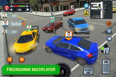 تحميل لعبة تعلم السياقة Car Driving apk مهكرة للاندرويد (اخر اصدار)