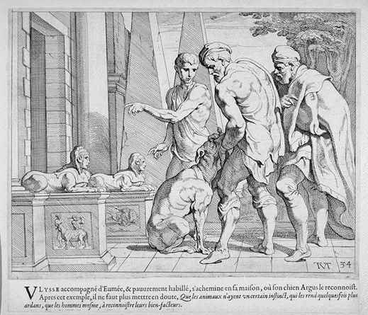 Argos recognizes Ulysseus