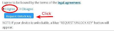 La imagen muestra la seccion donde se aceptan los terminos legales, y se solicita la llave que llegara al correo