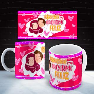 Mug para enamorados full color