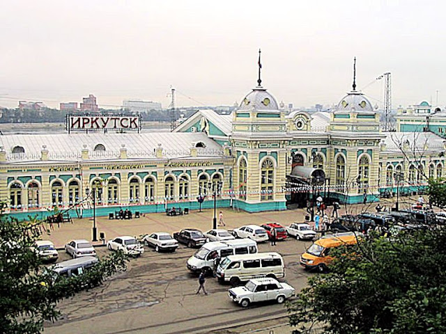 Irkutsk Station (Dmitry Afonin, Creative Commons Attribution 2.5 Generic license)