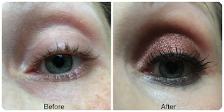 before and after charlotte tilbury legendary lashes mascara