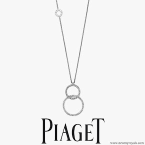 Crown Princess Mary wears Piaget Possession long necklace