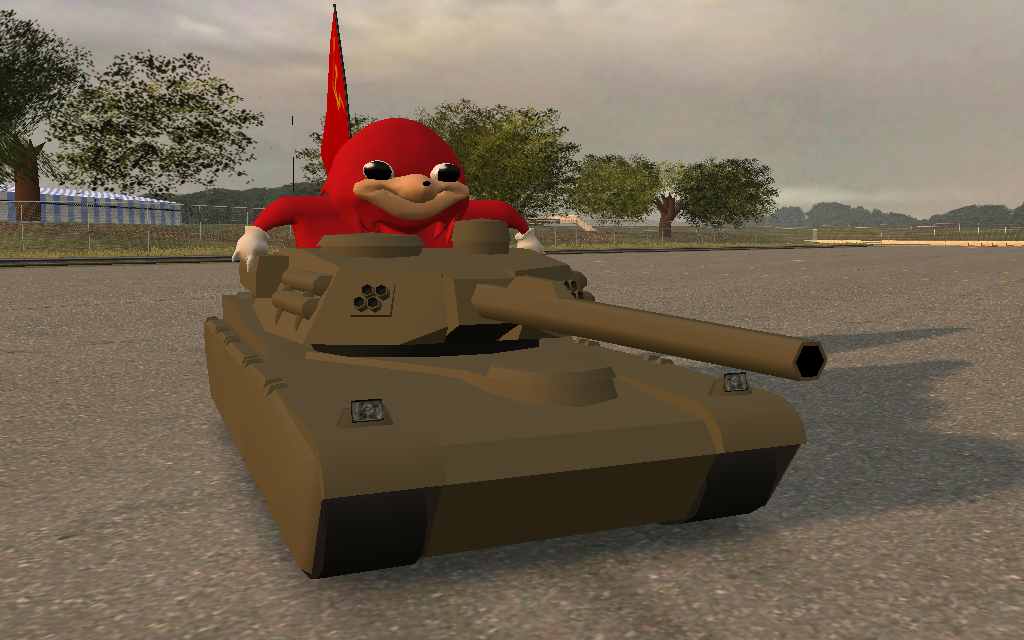 XR - Uganda Knuckles - Rhino URSS flag ~ LM