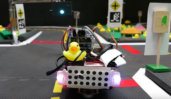麻省理工學生怎麼研究自動駕駛系統?用黃色小鴨!