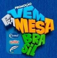 Vem Pra Mesa Brasil Promoção 2019 - 500 Reais Todo Dia
